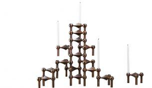 Just Right STOFF® Kerzenhalter 15er Kombination | Chrom