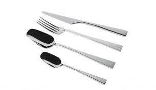 knIndustrie Zest Cutlery polished | 24 pieces