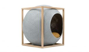 meyou the cube light grey wood camel
