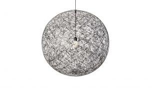 Moooi Random Light black suspension lamp