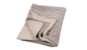 Niki Jones Velvet Linen Quilt Oyster