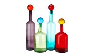 Pols Potten Bubbles & Bottles Multi Mix XXL Flaschen | 4er Set