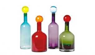 Pols Potten Bubbles & bottles multi mix Flaschen | 4er Set