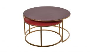 Pols Potten Enamel Coffee Table | Set of 2