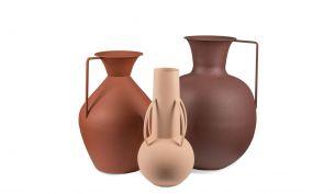 Pols Potten römisches 3er Vasenset | braun