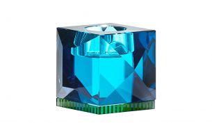 Reflections Ophelia Teelichthalter | Azurblau