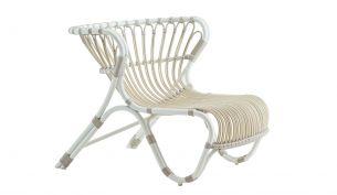 sika design fox chair outdoor dove white