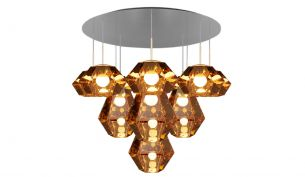 tom dixon cut pendant chrome tall on