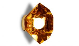 tom dixon cut surface wall gold on