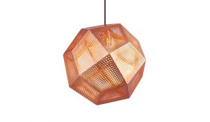 Tom Dixon Etch Copper pendant light
