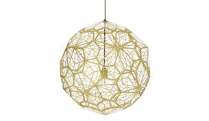 Tom Dixon Etch Web Pendant Lamp brass