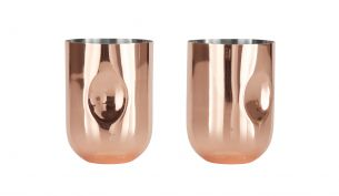 Tom Dixon Plum Moscow Mule Becher | 2er Set