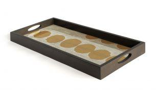 ethnicraft sienna dots tray