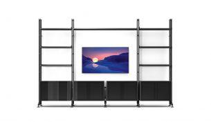 Cassina Infinito Wall 835 Regal | Esche Schwarz