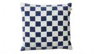 Chhatwal & Jonsson Mysore Cushion Blue