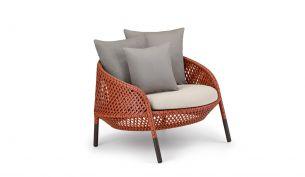 DEDON Ahnda Lounge Chair elemental