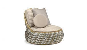 Dedon Dala Lounge Chair