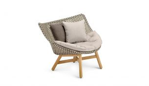 Dedon Mbrace Lounge Chair with Seat Cushion