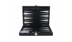 Hector Saxe Backgammon Buffalo Noir