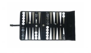 Hector Saxe Victor Travel Backgammon Noir