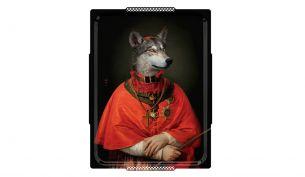 Ibride Le Loup Tablett   Oval