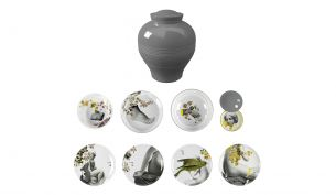Ibride Yuan Parnasse | Set of Plates and Bowls