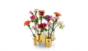 Klong Awa Vase / Kerzenhalter Messing