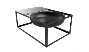 Konstantin Slawinski Slide Fire Bowl / Barbecue