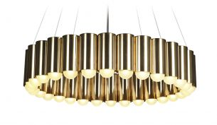 Lee Broom Fulcrum Light pendant brass