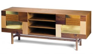 Mambo Unlimited Ideas Form Sideboard brass