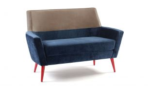 Mambo Unlimited Ideas Doble Sofa blue