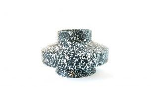 Mani Discus Vase | Steinoptik