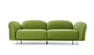 Moooi Cloud Sofa Velour Moss