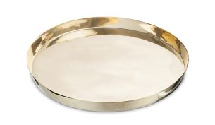 Nordstjerne Brass Tray Round