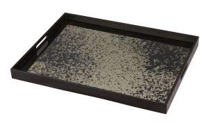 notre monde heavy aged bronze mirror rectangular 61x46x5cm