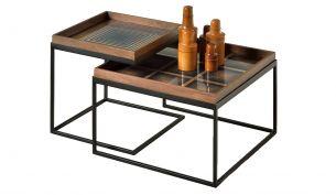 Notre Monde Square Coffee Tischset | Quadratisch | S + L
