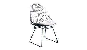 Pastoe SM05 Wire Stuhl | Schwarz ash