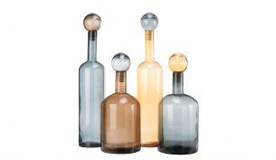 Pols Potten Bubbles & Bottles Chic Mix XXL Flaschen   4er Set