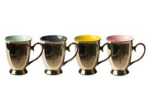Pols Potten Legacy Gold Becher | 4er Set