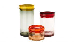 Pols Potten Gläser Caps & Jars XL |Mehrfarbig