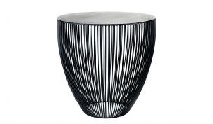 Louise Roe Balloon 04 Vase | Opal weiss