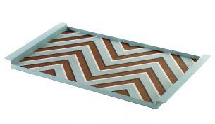 Serax Charles Tablett | Zigzag Blau