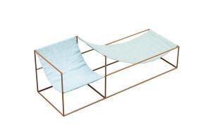 Valerie Objects Duo Seat | Blau