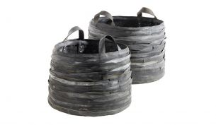 Serax Log Ruber Basket Set