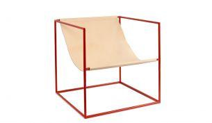Valerie Objects Solo Seat Stuhl | Rot
