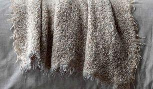 Society Limonta Multi Plaid Alpaka Decke Marmo