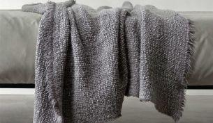 Society Limonta Wooly Plaid Decke