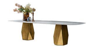 Sovet Deod Tisch | Schwarz - gehärtetes Rauchglas