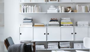 String Plex Shelf System White
