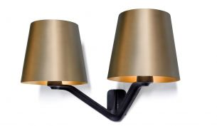 Tom Dixon Base wall lamp brass brushed